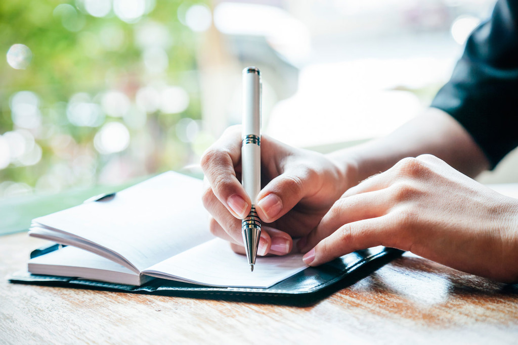 how to write personal diary
