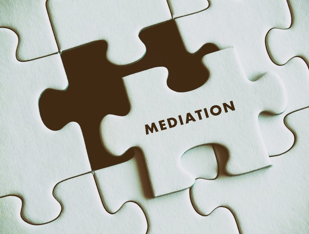 Mediation puzzle piece