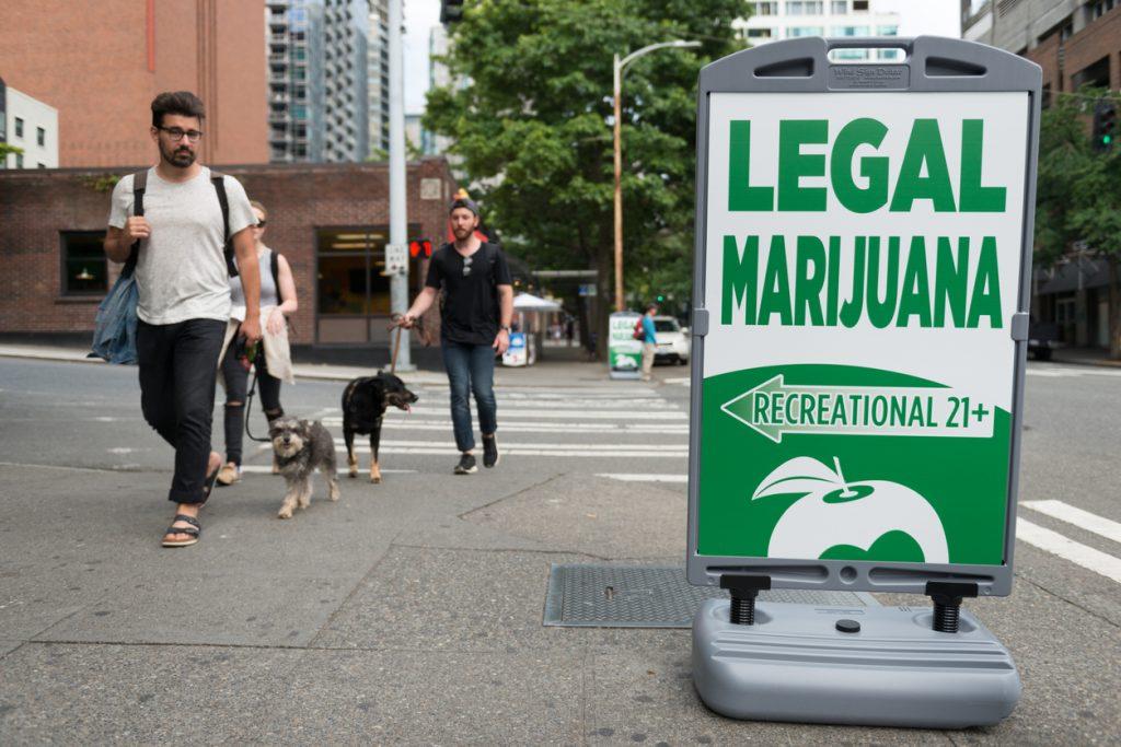 Legal Marijuana Sign