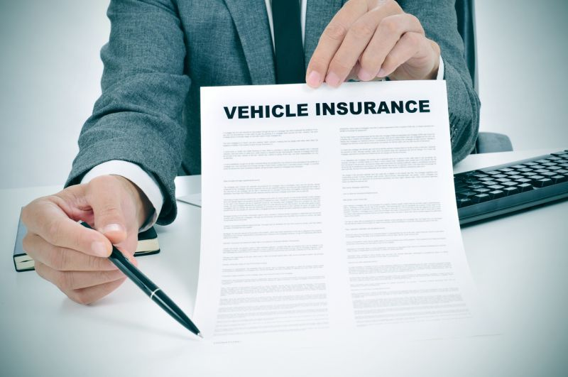 Vehicle insurance papers